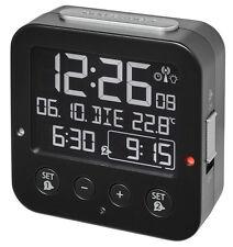 Radio-réveil Bingo Blackline TFA 60.2531.01 affichage négatif 2 alarme éclairage