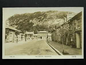 Wales Porthmadoc TREMADOC The Square - Old RP Postcard by Frith