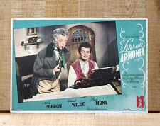 ETERNA ARMONIA fotobusta poster Wild Muni Oberon Chopin A Song to Remember F90