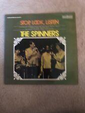 """THE SPINNERS - STOP, LOOK, LISTEN - 6870 529 - 12"""" Vinyl LP"""