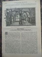 1889 Berlin Ausschank Pschorr Brauerei Gaststätte Teil 2 Wentzel au Stolpe Tegel
