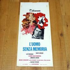 L'UOMO SENZA MEMORIA locandina poster Luc Merenda Berger Pistola Gun Puzzle M99