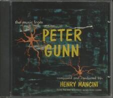 PETER GUNN SOUNDTRACK HENRY MANCINI ORIGINAL NBC - TV SCORE on RCA CD