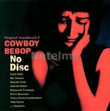COWBOY BEBOP Vol 2 II No Disc Music CD SOUNDTRACK MIYA Records OST