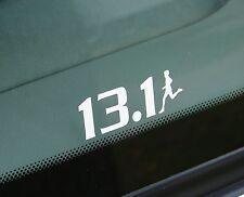 """13.1 Half Marathon Decal Sticker Runner Logo Run *Brand NEW Design 2.5"""""""