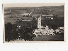 Widecombe In The Moor, Chapman RP Postcard, A618