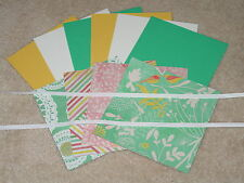 Stampin Up & K & Company Handmade Collection Birds & Flowers Card Kit *6* New
