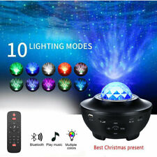 3 in 1 Galaxy Projector Lamp LED Sky Star Moon Bedroom Night Light Music Nebula