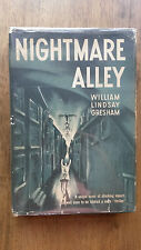 William Lindsay Gresham – Nightmare Alley (US 1948 hb with dw) cult carny novel