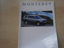 52788) Opel Monterey Prospekt 08/1996