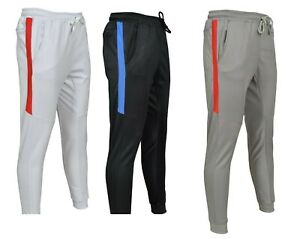 Men Gym Slim Fit Trousers Tracksuit Bottoms Sports Joggers Sweat Track Pant Boys