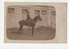 Austria Military Cavalry Officer 1914 WW1 RP Postcard 439a