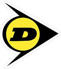 "#516 3"" Dunlop superbike sponsor decal racebike race bike CBR GSXR CB LAMINATED!"