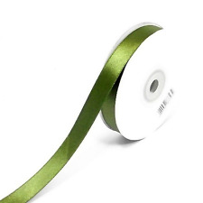 Double Face Satin Ribbon 3, 10, 16 & 25mm Full Roll 25 / 50 Meters Choose Colour