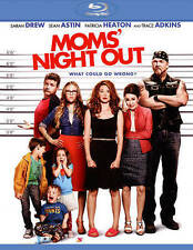 Moms' Night Out (Blu-ray Disc, 2014, Includes Digital Copy; UltraViolet) - NEW!!