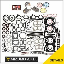 Fit 02-05 Subaru Impreza WRX Turbo USDM EJ205 Full Gasket Set Bearings Rings