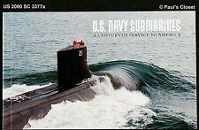 US 2000 Sc 3377a USN sous-Marins - Uss Holland,S Class,Gato,La ,& Ohio Cto VF