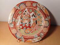 Assiette ancienne porcelaine japonaise Imari Japon samourai geisha 1