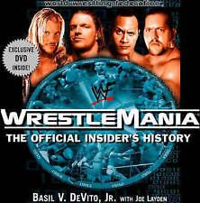 USED (GD) WWF WrestleMania : The Official Insider's Story by Basil V., Jr. DeVit
