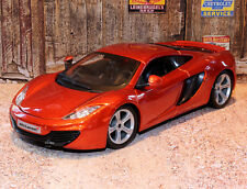 Mclaren MP4 12C Sports Car 1:24 Scale Die-cast Model Car Bburago