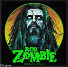 "ROB ZOMBIE- ZOMBIE FACE PATCH 10cm X 10cm (4"" X 4"")"