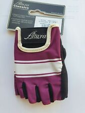 Altura Classic Womens Cycling Mitts, Plum, Small, Excellent Condition