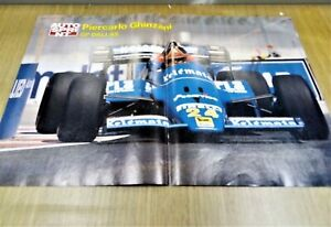 @ Q10 Mini Poster Piercarlo Ghinzani GP Dallas 1984