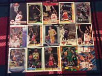 HALL OF FAME Basketball Card Lot 1991-2020 MICHAEL JORDAN ALLEN IVERSON WILT +
