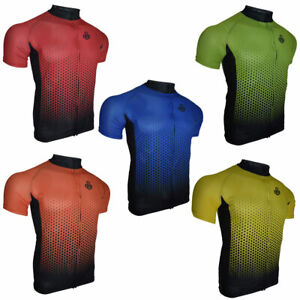 Ento Men's Cycling Jersey Short Sleeve Top Quality Biking Summer Half T Shirt