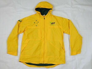 Australia Cricket Ashes 2015 Official Asics 2XL Team Issue Gold & Green Jacket