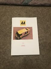 custom built lego AA Van INSTRUCTIONS ONLY