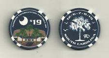 Phish Charleston Poker Chip Coin Pin 1 2 4 5 6 7 8 9 11 14 15 17 18 21 24 25