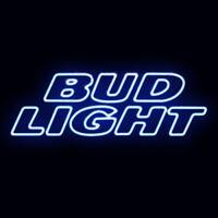 """BUD LIGHT BUDWEISER BEER BAR CORONA FORD CAR BUSCH MILLER NFL NEON SIGN 11""""x8"""""""