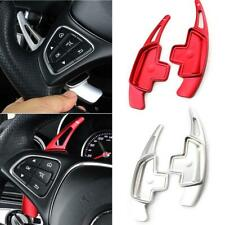 Car Steering Wheel Shift Paddle Extension Shifter For Mercedes Benz AMG Silver