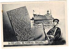 Regia marina preghiera del marinaio
