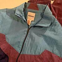 Vtg 80s Womens M Jogging TRACK SUIT Windbreaker Jacket Pants Set Size Medium