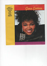 Gwen Guthrie - Ain`t Nothin`Goin`ON BUT THE RENT -  7 Single