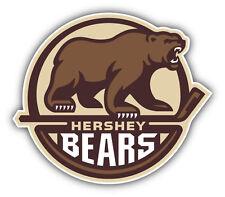 Hershey Bears AHL Hockey Logo Car Bumper Sticker Decal 5'' x 4''