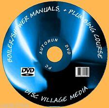 1700 + GAS CALDAIA servizio / install manuali di riscaldamento / idraulica e docce ETC PC DVD
