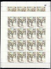 NN 16X SOMALIA 2000 - MNH - WILD ANIMALS - ELEPHANTS - FULL SHEETS