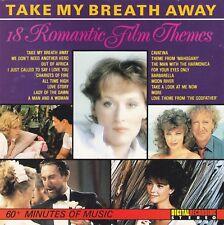 Take My Breath Away 18 Romantic Film Themes Soundtrack Filmmusik Album Musik CD