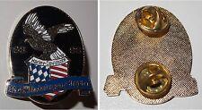 Pin-Anstecker 5 Jahre Harley Davidson H.O.G. Niederbayern Chapter 1993-1998