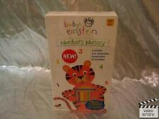 Baby Einstein Numbers Nursery VHS NEW