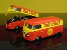 Retro 1967 67 VW Volkswagen Shell Service Drag Bus 1/64 Scale Limited Edition J