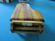 ROUGE SWISS MUSIC BOX PIANO PLAYS MY LADY GREENSLEEVES