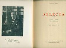 BUZZI Paolo, Selecta (1898-1954). Impronta 1955