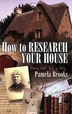 Wie Forschung ihr Haus: jedes Haus erzählt..., Brooks, Pamela   Taschenb