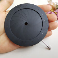 4-60MM Adjustable Camera Microscope Adapter Iris Diaphragm Aperture Condenser