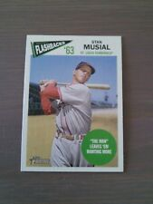 2012 Topps heritage Stan musial flashback