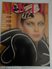 VOGUE **  MARCH 1st 1973  ** More Birthday Issues in our shop ** FREE GIFTWRAP